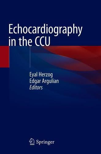 9783319902777 Echocardiography In The Ccu